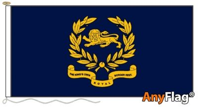 - KINGS OWN ROYAL BORDER REGIMENT ANYFLAG RANGE - VARIOUS SIZES